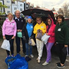 City Rotarians help homeless